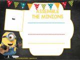 Download Birthday Invitation Template Minion Birthday Invitation Template Free Download Free