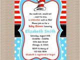 Dr Seuss Baby Shower Invitations Target Dr Seuss Baby Shower Invitation Dr Seuss Blue Polka by