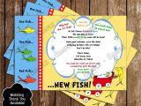 Dr Seuss Baby Shower Invitations Target Dr Seuss E Fish Two Fish Baby Shower Invitations