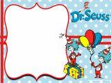 Dr Seuss Birthday Invitation Template Free Dr Seuss Invitation Templates Printable Free