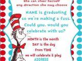 Dr Seuss Graduation Invitations Dr Seuss Graduation Quotes Quotesgram