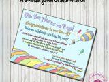 Dr Seuss Graduation Invitations Graduation Invitations Dr Seuss and Graduation On Pinterest