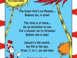 Dr Seuss Graduation Invitations Kindergarten Graduation Quotes Quotesgram