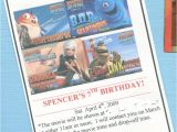 Drop Off Party Invitation Wording Great 7 Year Old Birthday Party Idea Go Out to the Movies