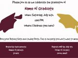 Dual Graduation Party Invitations Joint Graduation Invitation Kristinvite