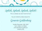 Duck themed Baby Shower Invitations Design Rubber Ducky Baby Shower Invitations