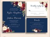 Dusty Blue and Cranberry Wedding Invitations Burgundy and Dusty Blue Wedding Invitations Wedding Gallery