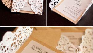 Dyi Wedding Invitations Lace Doily Diy Wedding Invitations Mrs Fancee