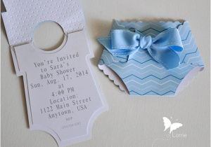 Easy to Make Baby Shower Invitations Easy Baby Shower Invitations to Make