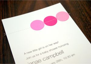 Easy to Make Baby Shower Invitations Simple Baby Shower Invitations