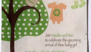 Eco Friendly Baby Shower Invitations Eco Friendly Plantable Paper Invitations 80 Baby Shower