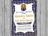 Egyptian Party Invitations Egyptian Baby Shower Invitation Egyptian theme