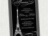 Eiffel tower Bridal Shower Invitations Paris Eiffel tower Bridal Shower Invitation by Invitinginvites