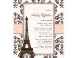 Eiffel tower Bridal Shower Invitations Parisian Eiffel tower Bridal Shower Invitations 5 Quot X 7
