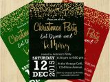 Elegant Christmas Party Invitation Template Free Download Free Word Templates