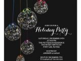 Elegant Party Invitation Template Elegant Christmas Ball Holiday Party Invitation Zazzle