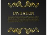 Elegant Party Invitation Template Elegant Wedding Invitation Template with Space for Text