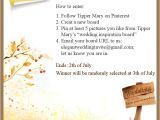 Elegant Wedding Invites Coupon Pin to Win Mac E Gift Card and Coupon Code On
