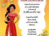Elena Of Avalor Birthday Party Invitations Elena Of Avalor Birthday Invitation by Gigglefish
