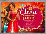 Elena Of Avalor Birthday Party Invitations Elena Of Avalor Invitation Disney Princess Elena Invite