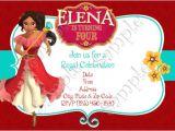 Elena Of Avalor Party Invitations Elena Of Avalor Birthday Party Invitation Elena Of Avalor