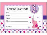 Elephant Birthday Invitation Template Elephant Birthday Invitations Ideas Bagvania Free