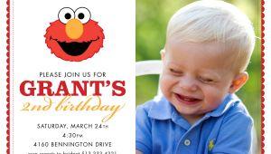 Elmo Customized Birthday Invitations Chandeliers & Pendant Lights