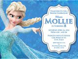 Elsa Party Invitation Template Elsa Frozen Birthday Party Invitation Ideas Bagvania