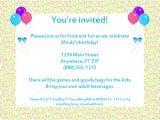 Email Birthday Invitations Party Invitations Very Best Email Party Invitations
