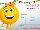 Emoji Birthday Invitation Template Free Printable Emoji Invitation Template