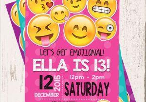 Emoji Birthday Invitations Free Emoji Birthday Invitation Emojis Emoji Invite