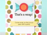 End Of School Year Party Invitation Wording Be Different Act normal End Of School Year Party Ideas