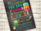 End Of School Year Party Invitation Wording End Of School Summer Party Ideas Digital End Of School