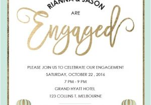 Engagment Party Invitations Engagement Party Invitations Design It Online Paperlust