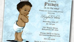 Ethnic Baby Shower Invitations Boy Boy Baby Shower Invitation African American Baby Shower