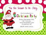 Etsy Christmas Party Invitations Christmas Party Invitation by Stickerchic On Etsy