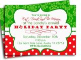 Etsy Christmas Party Invitations Items Similar to Christmas Party Invitation Printable