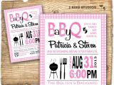 Etsy Coed Baby Shower Invites Bbq Baby Shower Invitation Baby Q Baby Shower Invite Coed