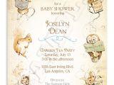 Etsy Com Baby Shower Invitations Beatrix Potter Baby Shower Invitation by ashwooddesignco