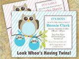 Etsy Com Baby Shower Invitations Design Twins Baby Shower Invitations Etsy Twins Baby