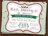 Etsy Engagement Party Invites Christmas themed Engagement Party Invitation Www Etsy