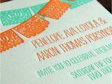Etsy Papel Picado Wedding Invitations Papel Picado Wedding Invitation Sample Onepaperheart