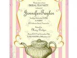 Etsy Tea Party Bridal Shower Invitations Vintage Bridal Tea Party Invitation by Myprettyprintables