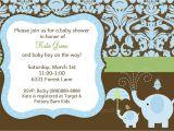 Evite Baby Boy Shower Invitations Baby Boy Shower Invitation Elephant Baby Shower Invitation