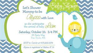 Evite Invitations for Baby Shower Elephant Baby Shower Invitation Boy by asyouwishcreations4u