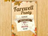 Example Invitation Card Farewell Party 40 Invitation Templates Free Psd Vector Eps Ai