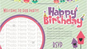 Example Invitation Card Happy Birthday 30 Beautiful Kids Birthday Invitations Psd Eps Ai