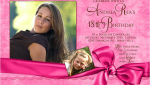 Example Of 18th Birthday Invitation Card 18th Birthday Invitation Maker and How to Make Your Own