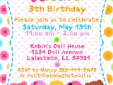 Example Of Invitation Card for Birthday Birthday Cards Invitations Birthday Invitation Examples