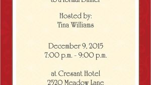 Example Of Invitation to Dinner Party Examples Of formal Invitation Cards Sparkling English